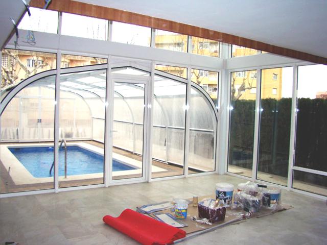 Acristalamiento, cerramiento y cubierta piscina 8