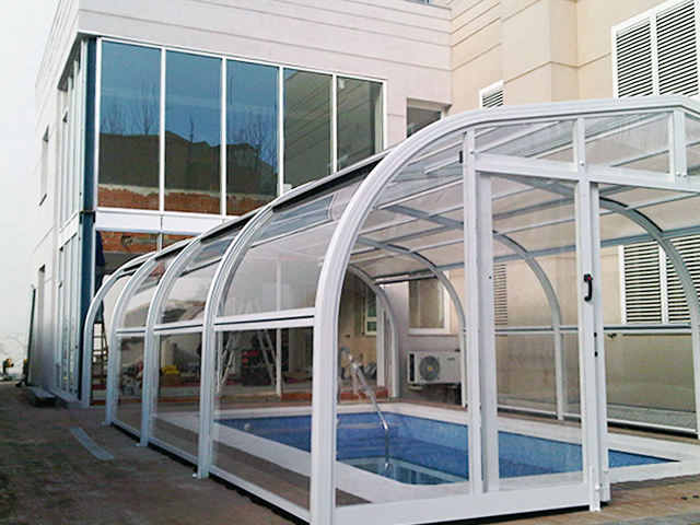 Acristalamiento, cerramiento y cubierta piscina 16