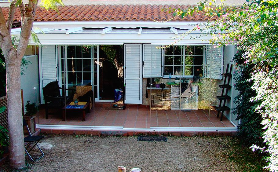 cerramientod e cristal, servicio de cristaleria techos