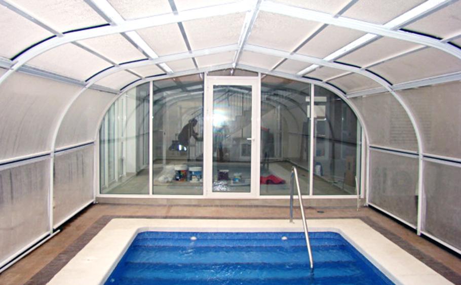 Otros trabajos aluinma carpinter a de aluminio en alicante - Techo piscina cubierta ...