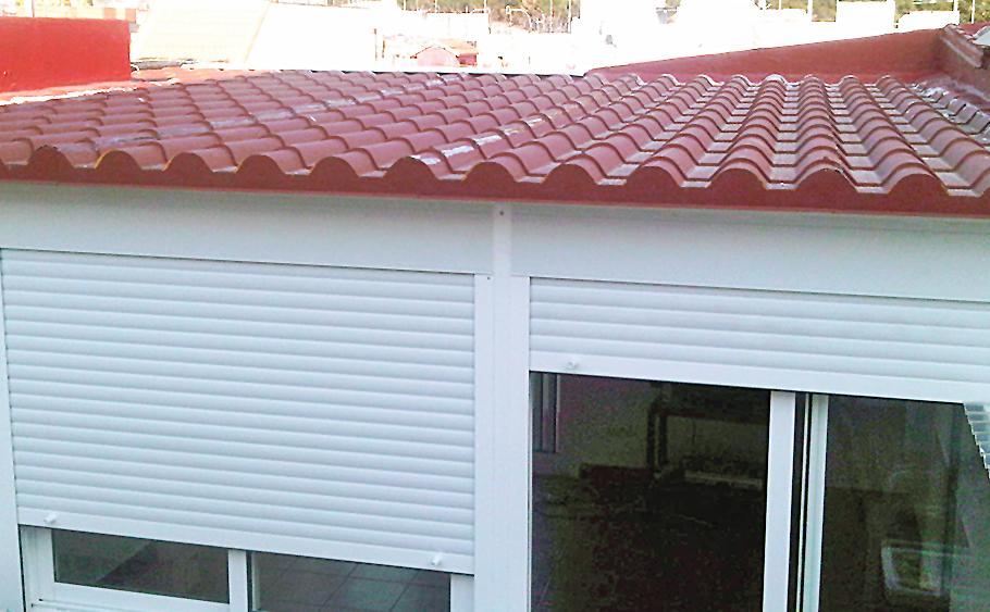 techo teja seccion techos fijos y moviles cerramientos